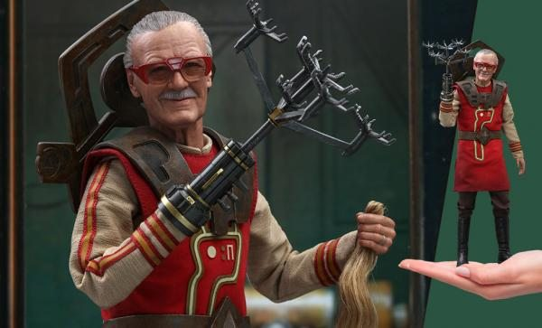 FREE U.S. Shipping Stan Lee Sixth Scale Figure by Hot Toys