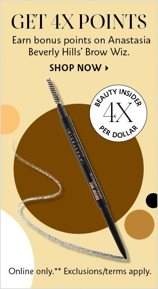 Get 4X Points Anastasia Beverly Hills Brow Wiz