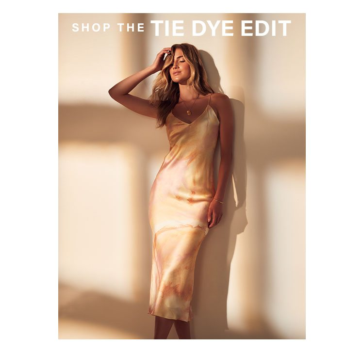 Tie Dye Forever: Give off all the positive vibes with this pretty, playful print we can't get enough of - Shop the Edit