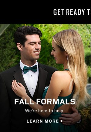 Fall Formals (Left) - Learn More