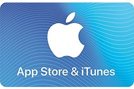 15% off Apple App Store & iTunes Gift Cards