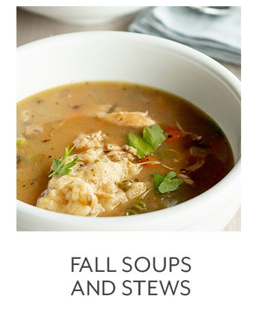 Class: Fall Soups and Stews