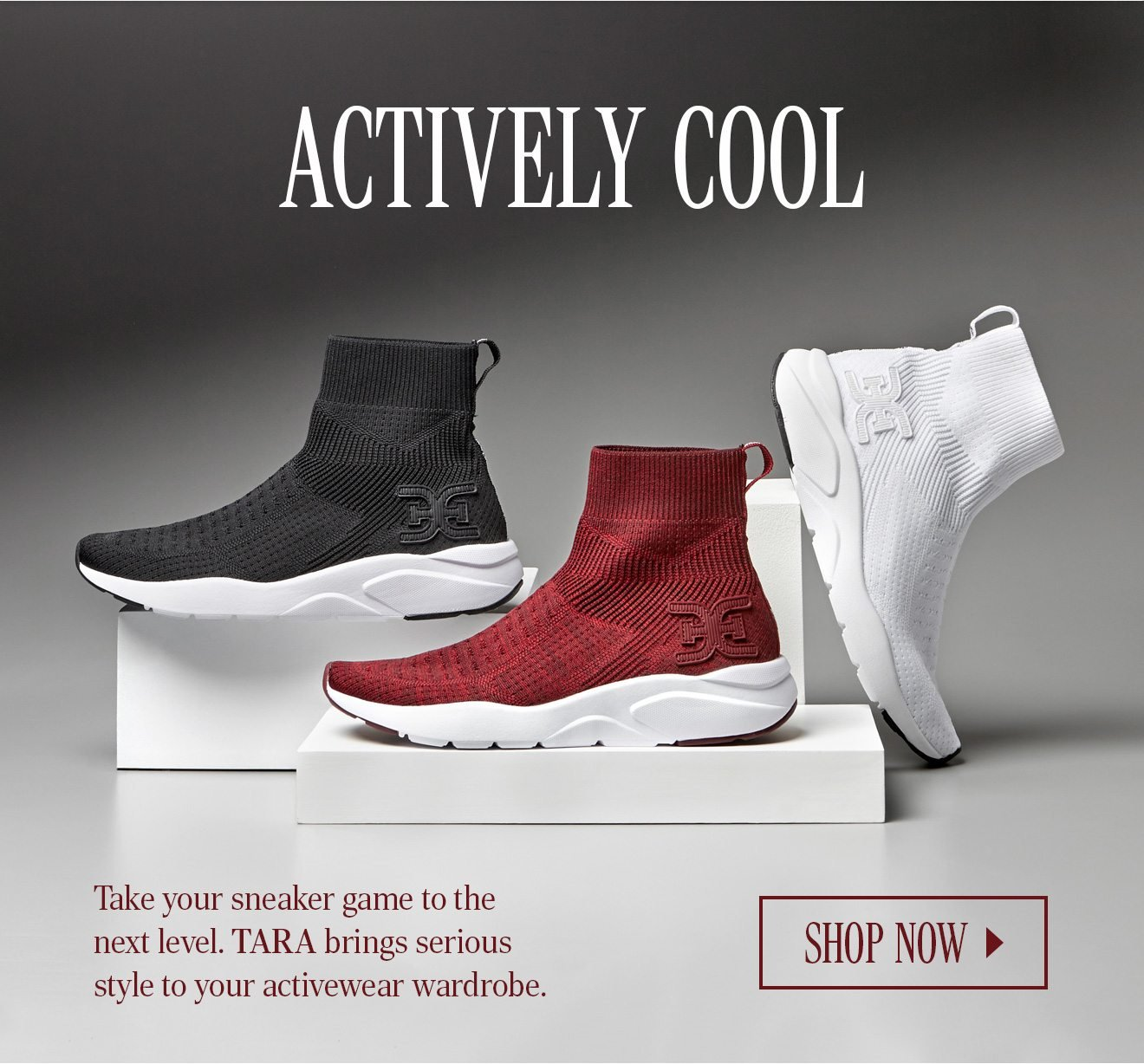 3c20589f0871 Take your sneaker game to the next level. Tara brings serious style