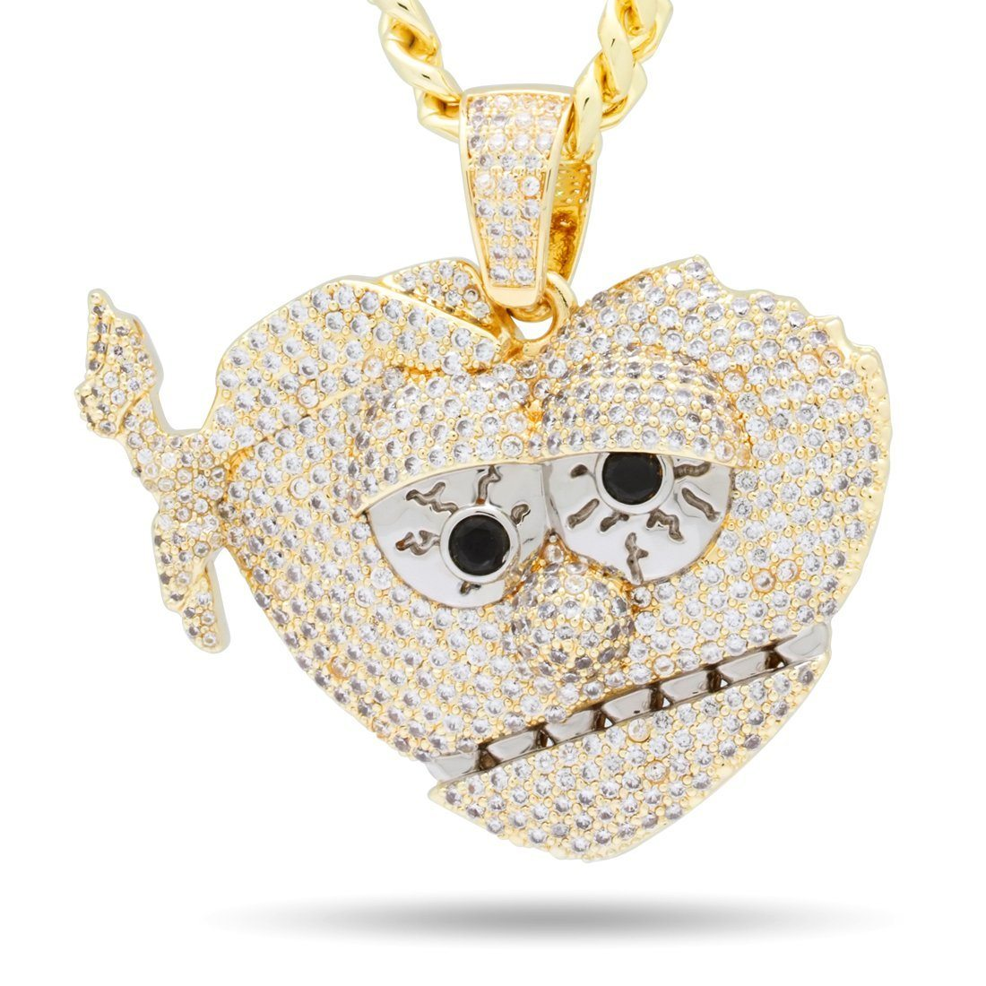 Image of Chief Keef x King Ice - Gold XL THOT Breaker Necklace