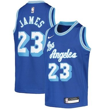 LeBron James Los Angeles Lakers Nike Youth 2020/21 Jersey - Classic Edition – Blue
