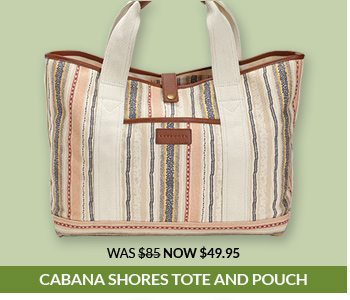 Shop the Cabana Shores Tote & Pouch