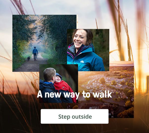 A new way to walk - Step outside