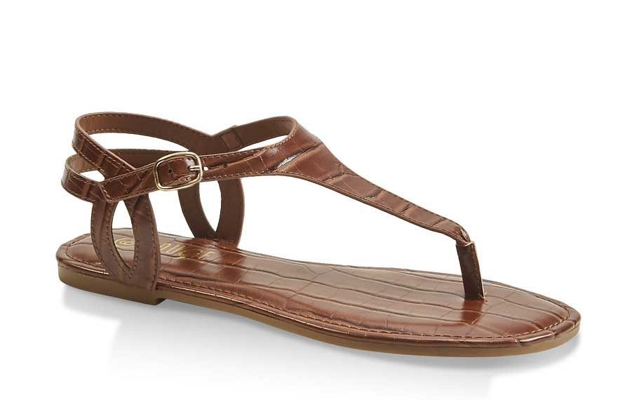 Ankle Strap Thong Sandals