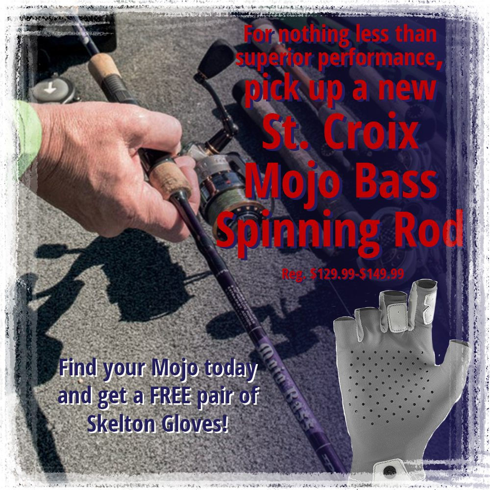Find your Mojo today and get a FREE pair of NRS Skelton Gloves