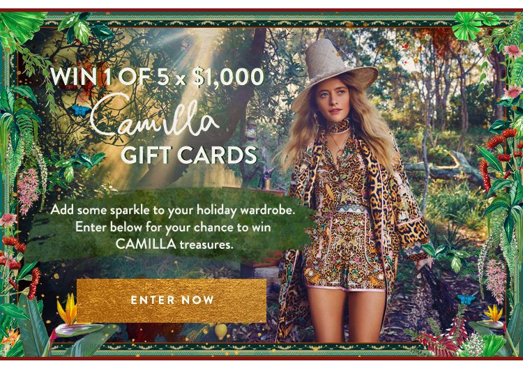 WIN 1 OF 5 $1,000 GIFT CARDS | COMPETITION