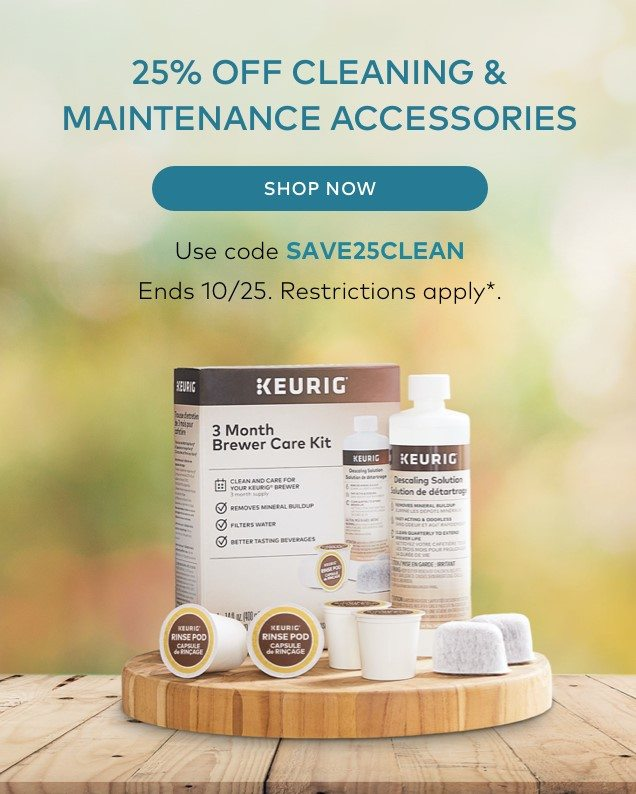 25% off Cleaning & Maintenance Accessories
