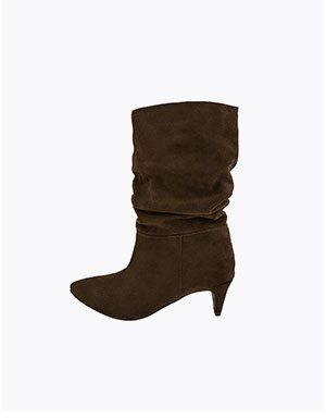 SAL SLOUCH SUEDE BOOTS