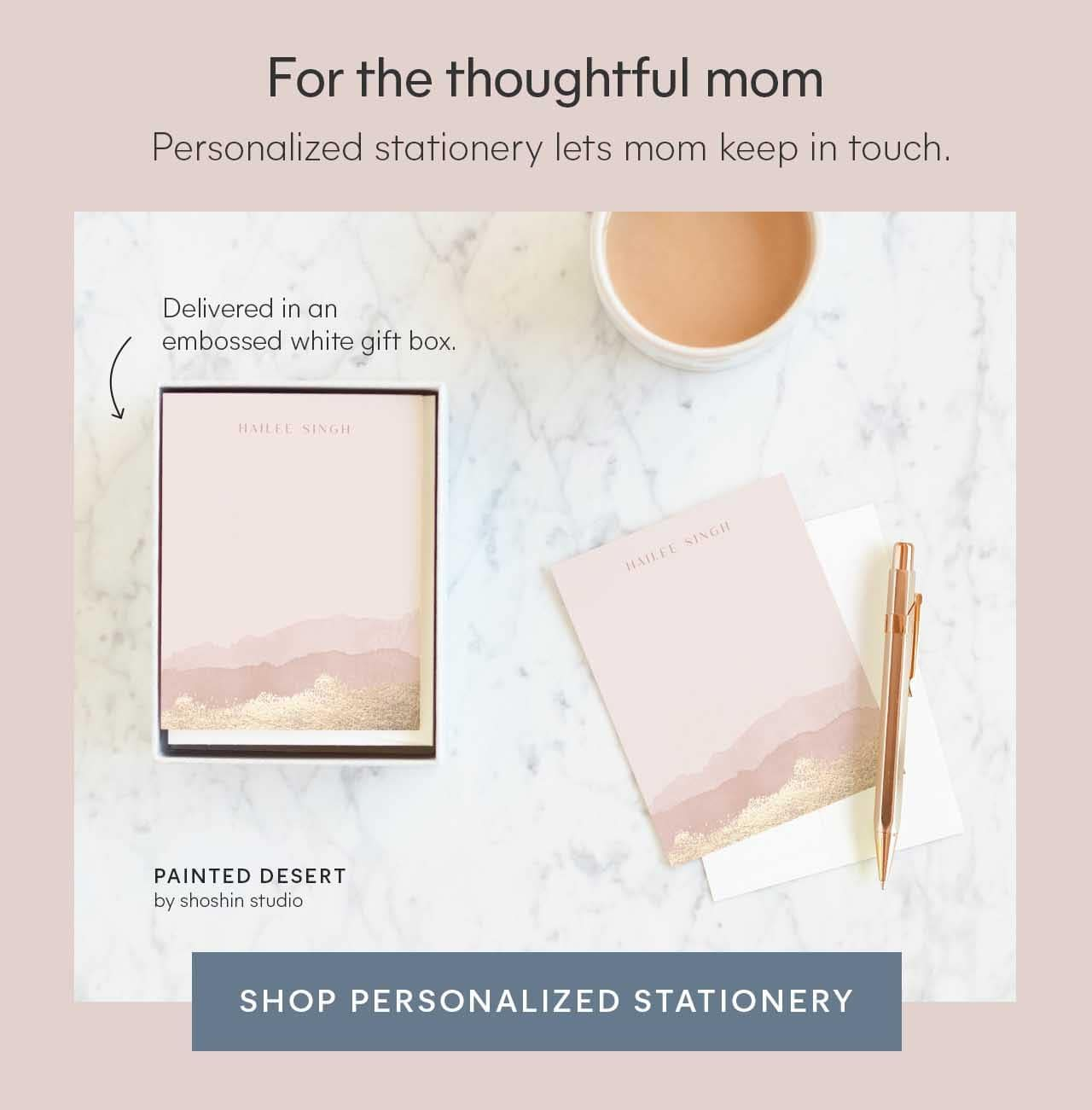 Shop Personalized Stationery