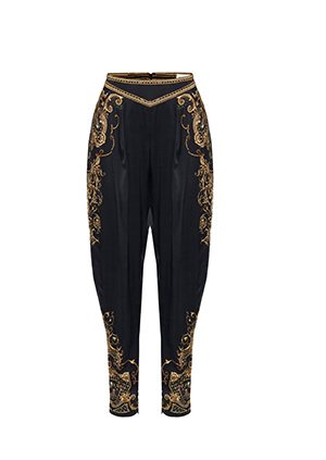 LOOSE PANT WITH DRAPED SIDE STUDIO 54