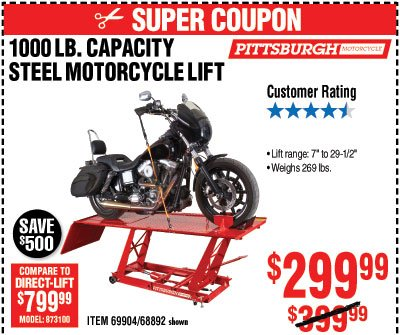 DON'T MISS OUT • Unbeatable Tool Deals Going on Now - Harbor