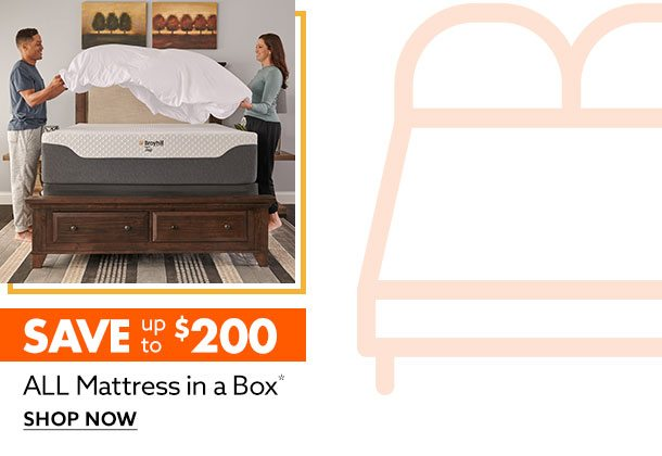 Save $200 on Mattress in a Box