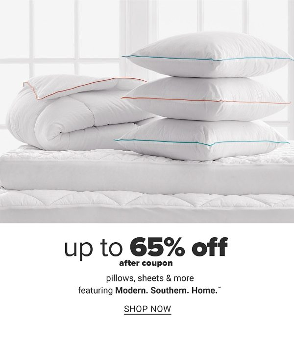 Up to 65% off after coupon pillows, sheets & more featuring Modern. Southern. Home. Shop Now.