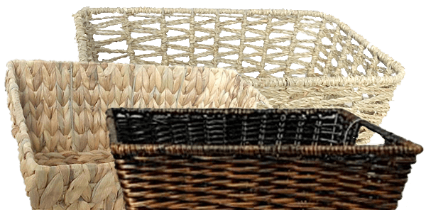 ENDS TOMORROW In Store. 60% off your total purchase of Entire Stock Baskets -when you stack- 40% Sale + 34% Coupon.