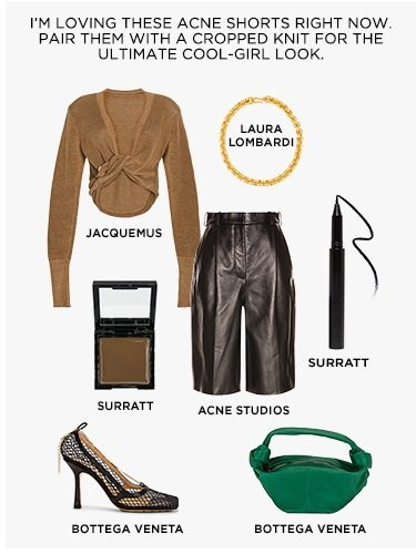 Editors' Picks: Spring In Leather: April Koza, VP - Shop Her Picks