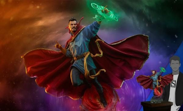 ONLY 1000 WORLDWIDE Doctor Strange Maquette