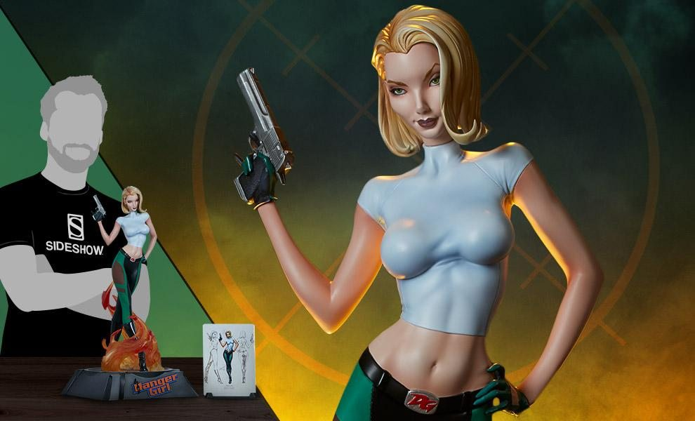 Sideshow Exclusive Abbey Chase: Danger Girl - Premium Format Figure - FREE Global Shipping!