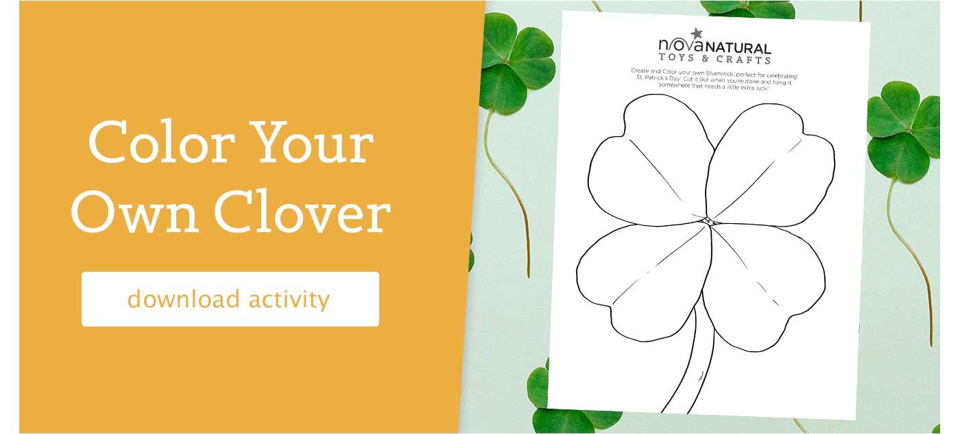 color your own clover