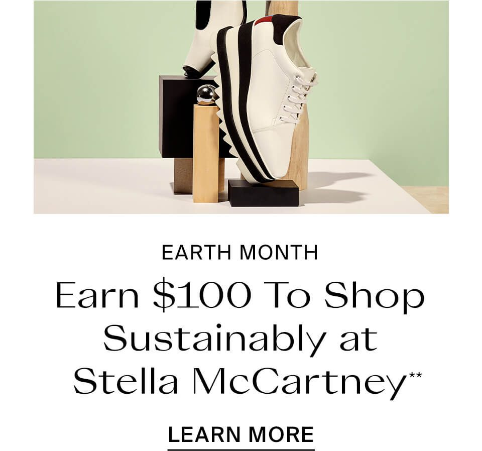 Earn $100 To Shop Sustainably At Stella McCartney**