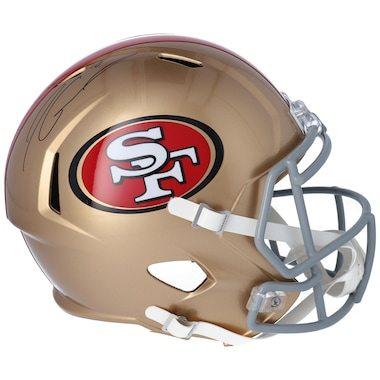 Jimmy Garoppolo San Francisco 49ers Fanatics Authentic Autographed Riddell Speed Replica Helmet