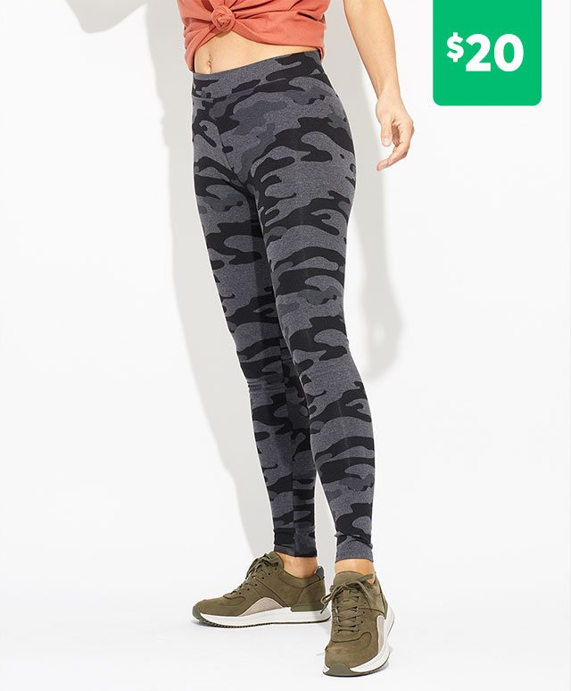 Camo Go-To Legging $20