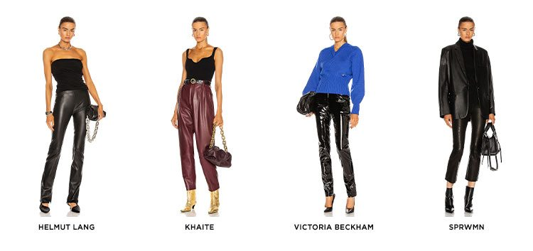 The Luxe Update: Leather Pants. Elevate your look this season with the latest closet staple. Shop Now