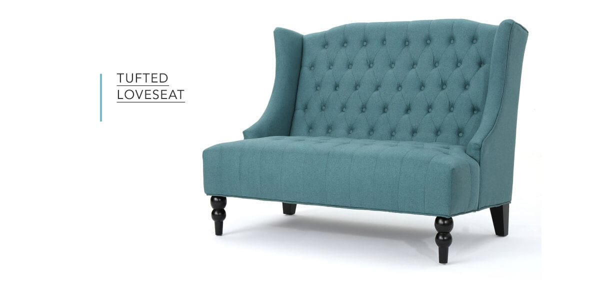 Tufted Loveseat   SHOP NOW
