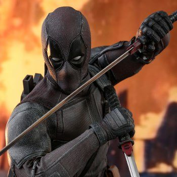 Deadpool Dusty Version Sixth Scale Figure by Hot Toys