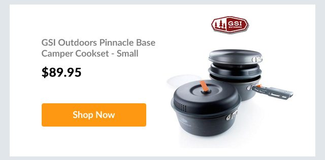 GSI Outdoors Pinnacle Base Camper Cookset - Small