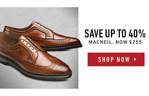 Save up to 40% on MacNeil