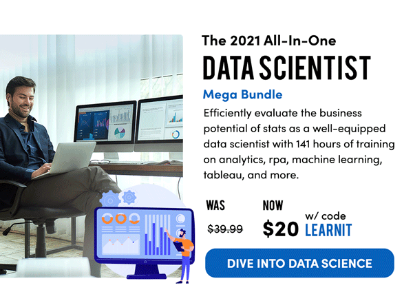 2021 Data Science Bundle | Dive Into Data Science