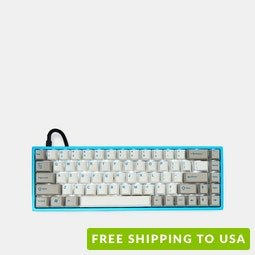 e42cc7b8a57 MAXKEY Miami SA Keycap Set, Tada68 Custom 65% Mechanical Keyboard ...