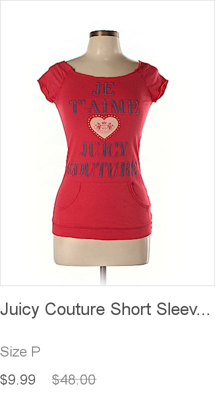3e936330f7 Check out this week s latest finds from Juicy Couture