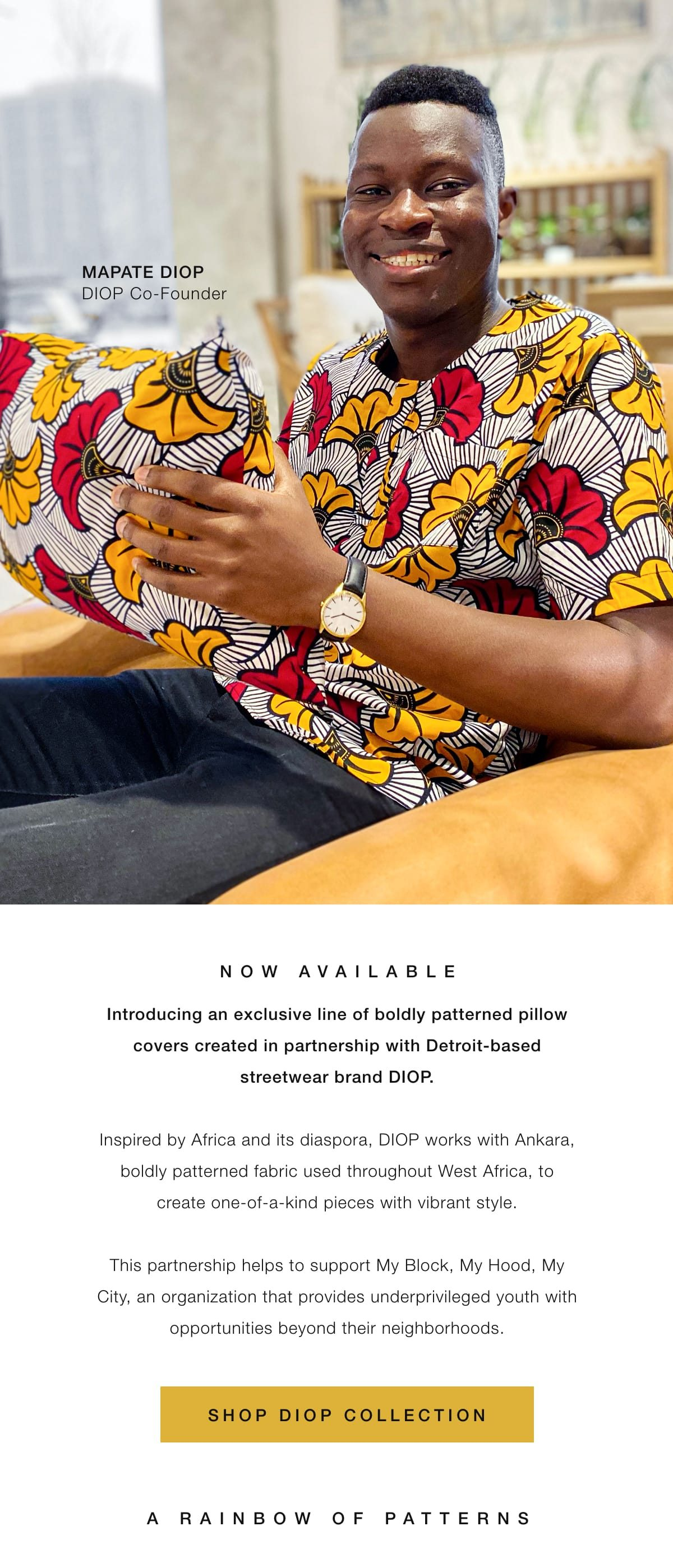 Shop the Diop Collection