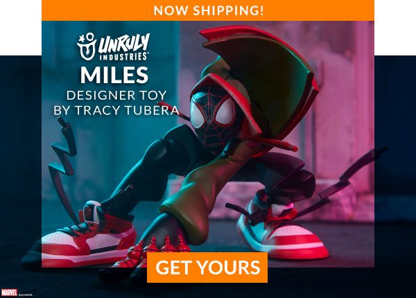 Miles Designer Toy by Tracy Tubera (Unruly Industries)