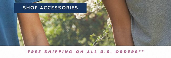 Shop Accessories Sale and get up to 40% off