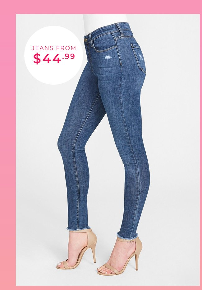 Jeans from $44.99