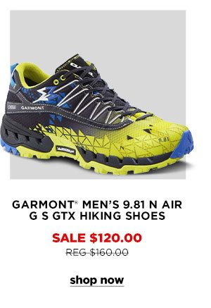 Garmont Men's 9.81 N Air G S GTX Hiking Shoes - Click to Shop Now