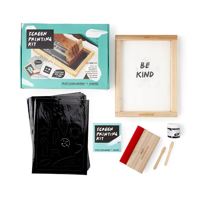 Shop arts and crafts for Father's Day - DIY Screen Printing Kit