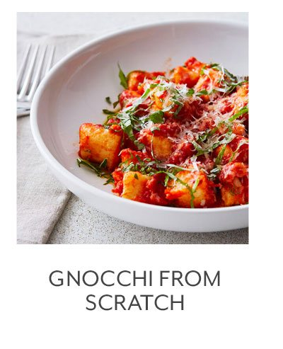 Class: Gnocchi from Scratch