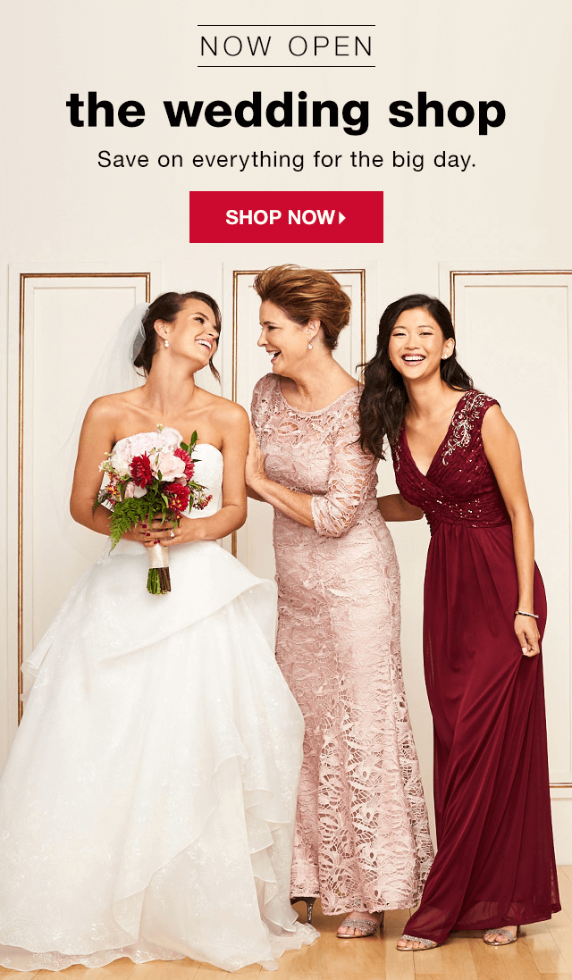 Tj Maxx Wedding.Online Exclusive The Wedding Shop T J Maxx Email Archive