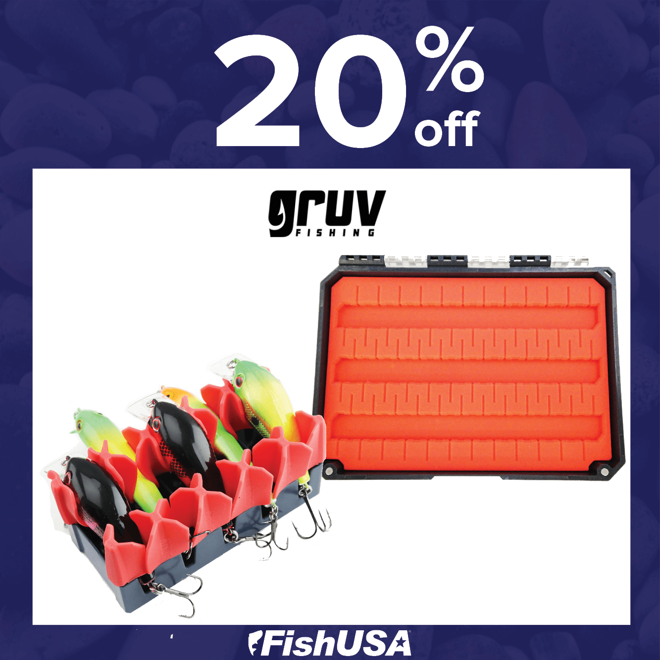 20% off all Gruv Products