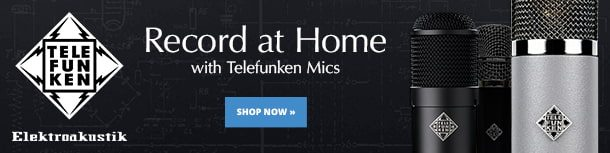Get Pro Sounds at Home with Telefunken Mics