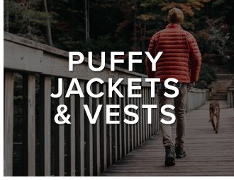 Puffy Jackets & Vests