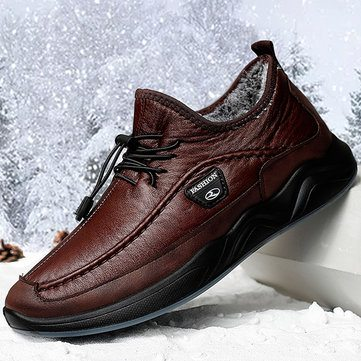 Men Warm Casual Shoes
