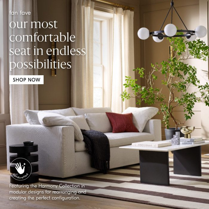our most comfortable seat in endless possibilities
